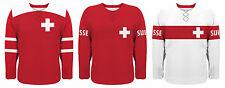 NEW 2018 Team Switzerland Hockey Jersey NHL Josi Streit Niederreiter Weber