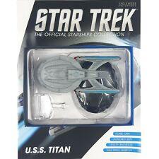 Star Trek Starship Collection USS TITAN NCC 80102 Model Bonus Edition Eaglemoss