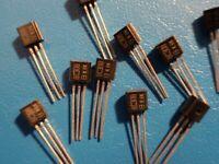 BC308-B PNP Silicium Low Power LF Transistor CS = TO92 5 PCS
