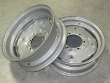 2 Wheel Rims 55x16 For David Brown 1190 1194 1200 1210 1212 1290 1294 1390 1394