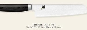 Shun Premier Tim Mälzer Minamo Santoku Knife 18cm Made In Japan