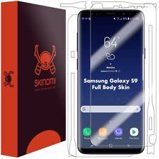 Skinomi FULL BODY Clear Skin+Screen Protector For Samsung Galaxy S9