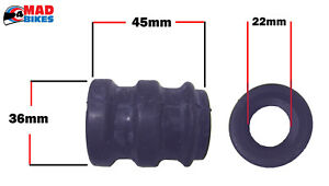 HUSQVARNA TC MOTORCYCLE EXHAUST SILENCER / TAILPIPE RUBBER SEAL JOINT / GASKET