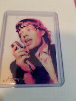 Mick Jagger #6 Sketch Card Limited 26/50 Edward Vela Signed