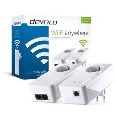 Devolo Powerline dLAN 550+ Wifi Starter Kit 500 Mbit/s WLAN LAN