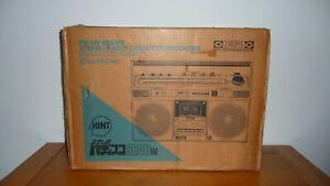 Brand New HITACHI TRK-8240RM Radio Cassette Boombox Ghettoblaster