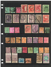AUST STATES- SA, WA & TASSIE SELECTION of USED STAMPS- 45+-SOME DOUBLES