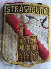 BG6280 - PATCH ECUSSON BLASON VILLE DE STRASBOURG