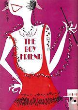 "Julie Andrews (Debut) ""THE BOY FRIEND"" Sandy Wilson 1955 Souvenir Program"