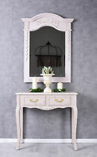 Console Table Rococo Pink Wall Side Wood Antique