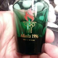 1996 Atlanta Olympic Games Shot Glass Toothpick Holder Green