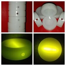 "LOT 6 Nitelite Hockey Puck 3"" Light Stick Glow in the Dark Glowsticks compatible"