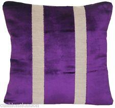 Purple Cushion Cover Osborne & Little Velvet Fabric Du Barry Throw Pillow Case