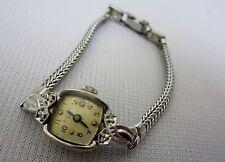 Vintage Bulova 23jewels M2 10kt Rolled Gold Plate Diamond Watch