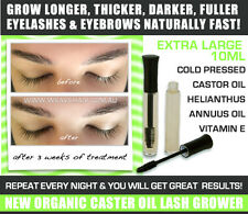 EYEBROW EYELASH Organic Growth Stimulator Grow Longer Darker Thicker Lashes 10ml