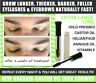 Eyebrow Eyelash GROWTH SERUM FULL LONGER THICKER HAIR fast TOP Organic Treatment