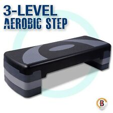 Aerobic Workout Home Gym Fitness Exercise 4 Block Bench Step Level Stepper