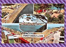 Carte postale - Saint Gille sur Vie ( format cpa)