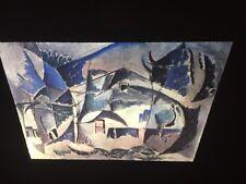 "Charles Sheeler ""Landscape 1915"" Modern Art 35mm Glass Slide"