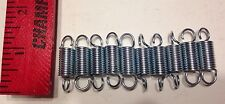 ".053"" Plated Wire Extension Spring Lot Of 10"