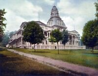 "1898 Athenaeum Hotel, Chautauqua, NY Vintage Photograph 8.5"" x 11"" Reprint"