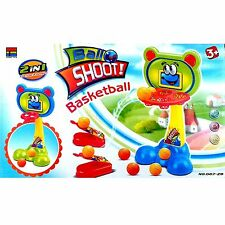 MINI 2 IN 1 SHOOT BALL BASKETBALL SHOOTING GAME TOY KIDS FAMILY FUN TOYS NEW