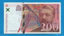 Gertbrolen  200 Francs EIFFEL Type 1996 Billet F029845522