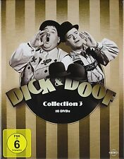 10 DVDs * DICK & DOOF COLLECTION BOX 3 -  Laurel und Hardy  # NEU OVP /