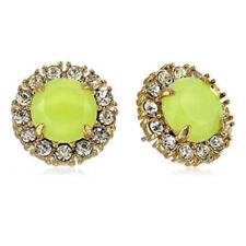 """Yellow Stud Earrings Wbru7824 58$ Kate Spade """"Secret Garden"""" Lemon"""