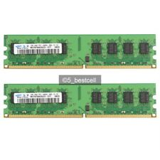 New Samsung 4GB 2X2GB DDR2 PC2-6400 DDR2-800MHz 240pin Desktop Memory RAM