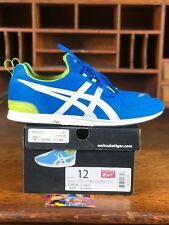 Asics Onitsuka Tiger Mens Running Shoe Blue/White Casual D3R1N4201 Size 12
