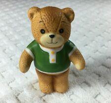New ListingEnesco Lucy & Me Boy Man Bear in Green Shirt 1979 Figurine