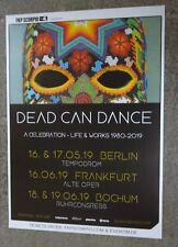 Dead  Can  Dance      Konzertposter   2019   Berlin -Frankfurt - Bochum