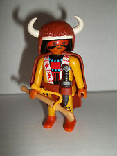 Playmobil,NATIVE AMERICAN INDIAN,Buffalo Robe, Series #11 Figure,NEW