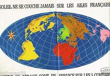 B- Publicité advertising 1968 (2 pages) Avions Mystère et Mirage Marcel Dassault