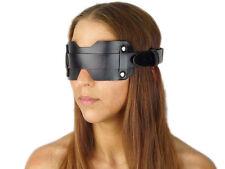 Blindfold Augenbinde Leder Augenmaske schwarz Maske Art.Nr. 2010