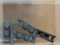 LEGO Parts - Dark Bluish Gray Plate 1 x 2 w Handle on End - No 60478 - QTY 5