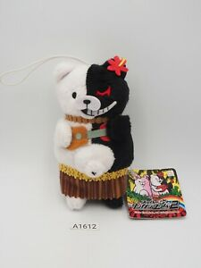 "Super Danganronpa A1612 Monokuma Furyu Strap Mascot 5"" Plush Toy Doll Japan"