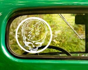 2 GRATEFUL DEAD DECAL Bogo Stickers For Car Truck Window Bumper Laptop