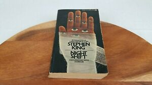 STEPHEN KING ~ NIGHT SHIFT ~1979 FIRST SIGNET EDITION ~ PAPERBACK