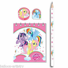 20 Piece My Little Pony Charm Children's Party Gift Loot Favours Stationery Pack