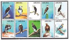 Aruba 2012 Vogels birds roofvogels birds of prey MNH
