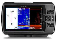 Garmin STRIKER 7sv Fishfinder w/ High Wide CHIRP 150-200kHz ClearVu Scan Sonar