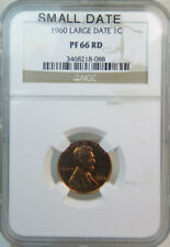 1960 SM DT LINCOLN CENT NGC MAC MS66 RED PQ 2ND FINEST REGISTRY SPOTLESS *