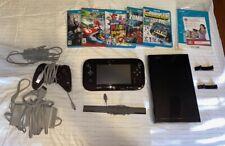 Nintendo Wii U system with 5 games, Pro Controller, Mario Kart 8, Super Mario