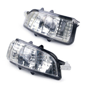 Mirror Turn Signal Indicator Lens Light Lamp Fit for Volvo S40 V50 C30 S60 V70
