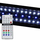 "LED Aquarium Light  RGB Remote Control HI LUMEN  12""-72"" Planted 24/7 Automated"