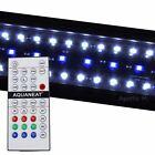 """LED Aquarium Light  RGB Remote Control HI LUMEN  12"""" Planted 24/7 Automated"""