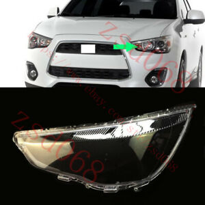 1x Left Side Headlight Transparent Cover For MITSUBISHI OUTLANDER Sport 2013-15