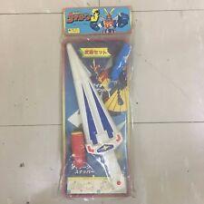 Daitan Daitarn 3 Robot Anime Vintage Sunrise Sword Spada Anime Japan